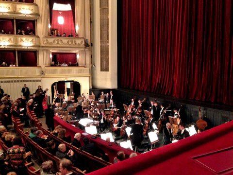 ウィーン国立オペラ座「シュターツオーパー」座席