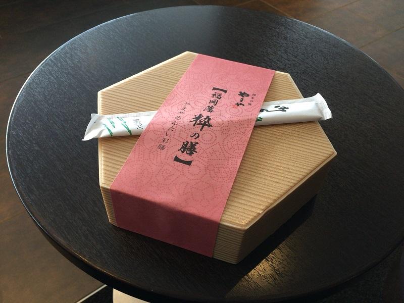 羽田空港空弁「やまやめんたい彩膳」がスカスカ