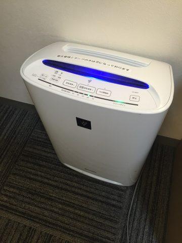 新大阪サニーストンホテル 空気清浄機