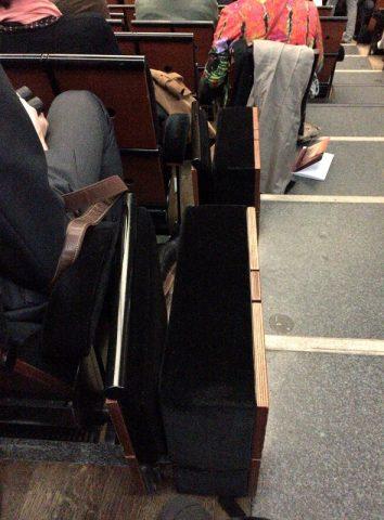 オペラ座バスティーユの座席