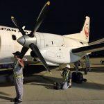 JAC但馬~伊丹SAAB340B搭乗記!JAL最小プロペラ機のシートと乗り心地をレポート