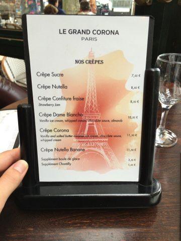 パリで話題 ヌテラのクレープが美味い!