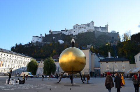 ザルツブルグ城のパノラマレストランから眺める雄大な景色に感動!
