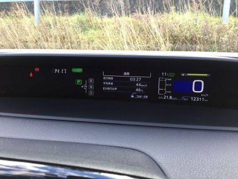 新型プリウスの低燃費は山道で通用する?標高1440m地点まで検証