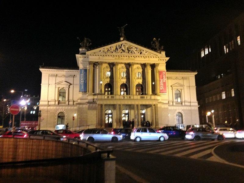プラハの国立歌劇場The State Opera座席図と見え方をチェック!