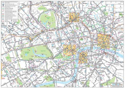 ロンドン バスMAP