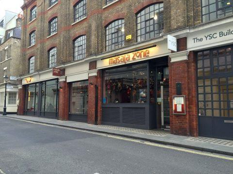 ラッシーが美味い!ロンドンのインドカレー店Masala Zone