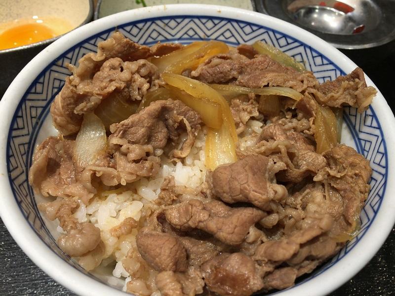 牛 丼 レシピ 松屋
