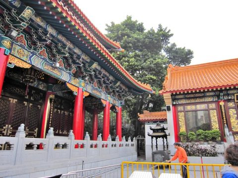 香港でNo.1の寺院「黄大仙祠(薔色園黄大仙廟)」