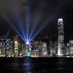 シンフォニー・オブ・ライツを見るなら高い所?低い所?香港の夜景を2箇所で比較