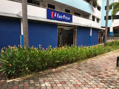シンガポールのスーパーマーケットFairPriceの品揃え