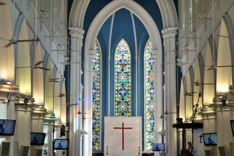 St.アンドリュース教会は日曜礼拝に行くのが良い!