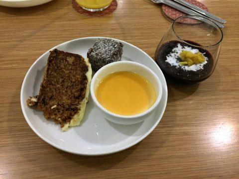 カンタス航空シンガポールラウンジのオーダー式メニューを食レポ!