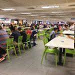 安くて美味い!チャンギ空港の地下にある従業員食堂へ行ってみた!(シンガポール)