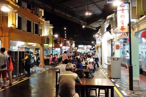 MALAYSIAN-FOOD-STREETの様子
