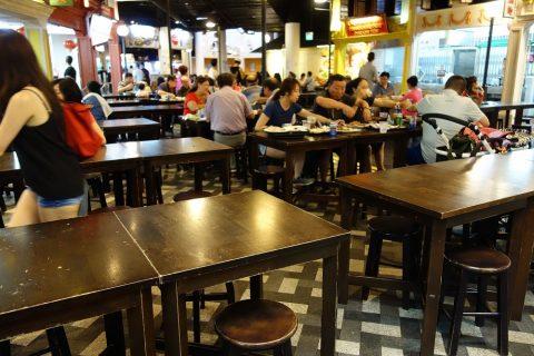MALAYSIAN-FOOD-STREETのフードコート