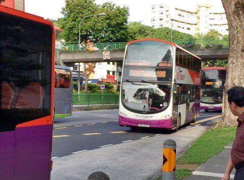 シンガポールで2階建てバスに乗ってみた!座席と眺望をレポート!