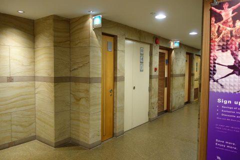エスプラネード地下のトイレ