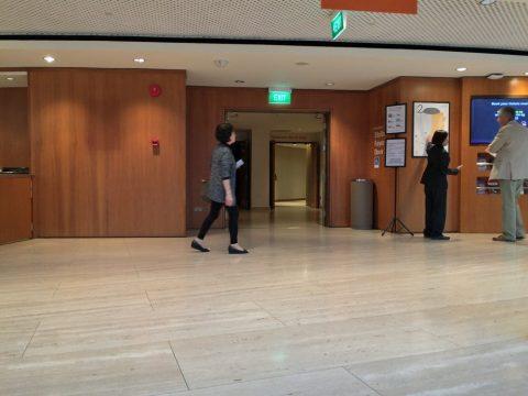 エスプラネードコンサートホール客席入口