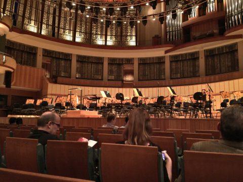 エスプラネードコンサートホール客席からの眺望