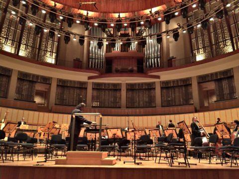 エスプラネードコンサートホールのステージ