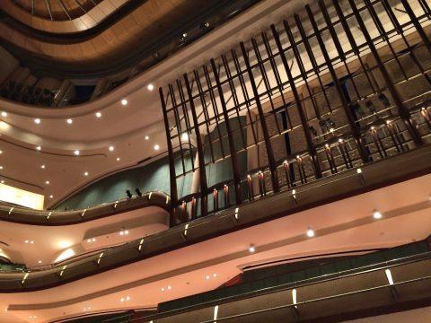 エスプラネードコンサートホールの客席上階