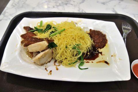 Hawker-CHAN「香港油鶏飯・面」のソイソースチキンヌードル