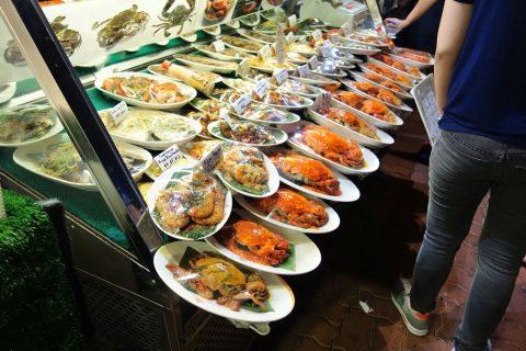 Makansutra-Gluttons-Bayの一品料理