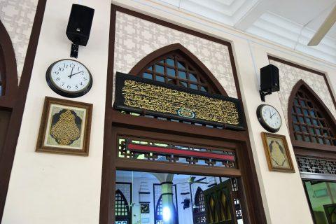 ハジャ・ファティマ・モスクの礼拝堂入口