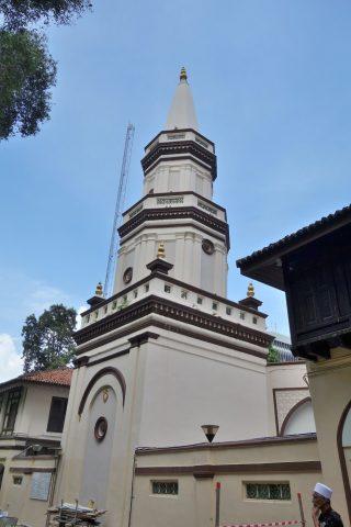 ハジャ・ファティマ・モスクの西洋建築