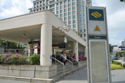 シンガポールMRTブギス駅
