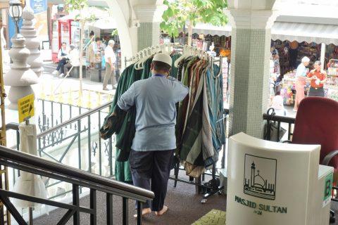 サルタン・モスクの貸し服