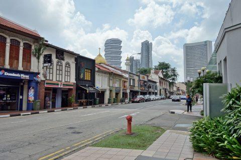 シンガポールの裏通り