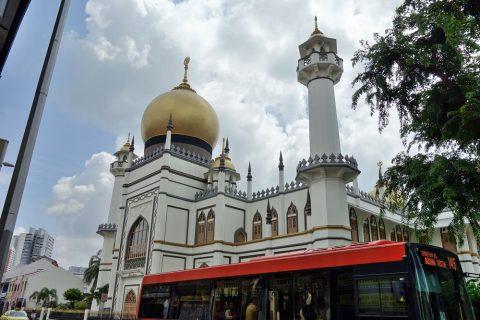 サルタン・モスクの外観