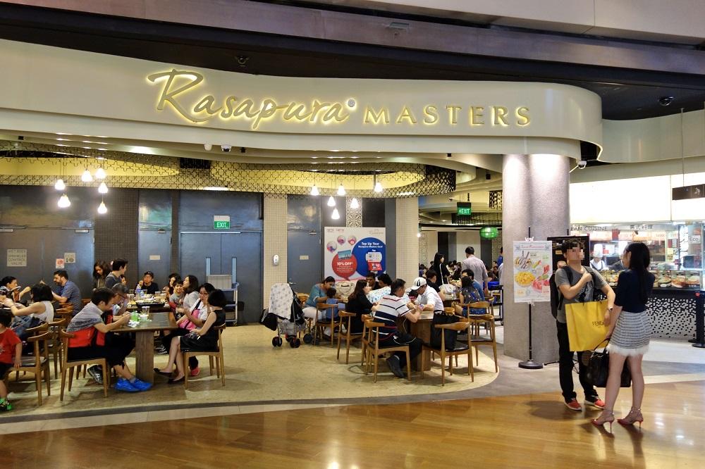 マリーナ・ベイ・サンズのフードコートRasapura MASTERSの中華が旨い!