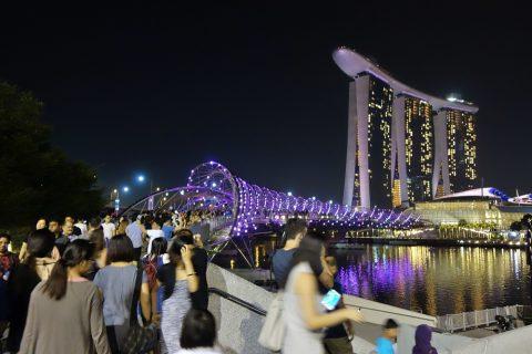 シンガポールHelix-Bridge