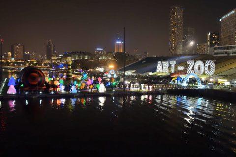 シンガポールHelix-Bridgeから見える景色