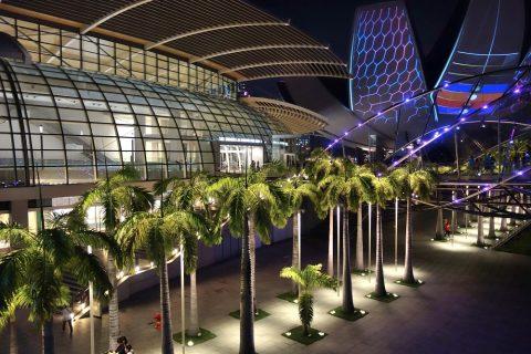 マリーナベイサンズとシンガポールHelix-Bridge