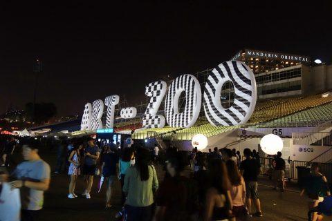 Art-zooシンガポールのモニュメント