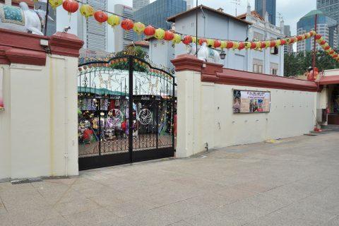 スリ・マリアマン寺院(シンガポール)を訪ねる