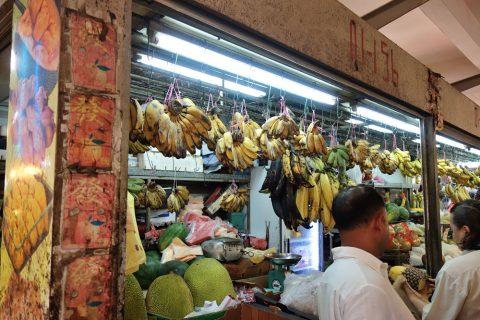 リトルインディア「テッカセンター」のバナナ