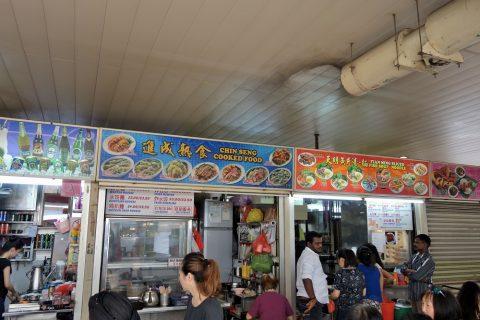 リトルインディア「テッカセンター」食事のラインナップ