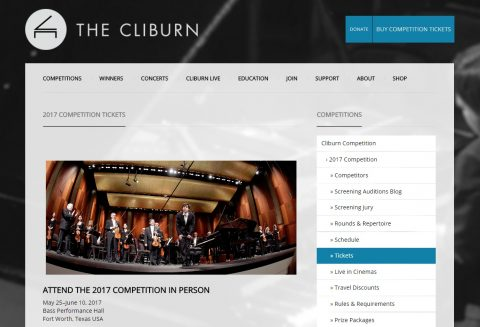 VAN CLIBURN INTERNATIONAL PIANO COMPETITION 2017 TICKETS PRICES (1)