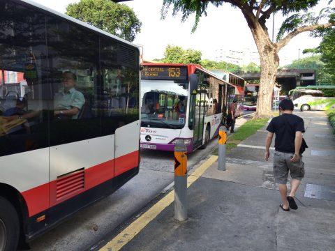 広くて快適!シンガポールでバスの乗り方と路線図