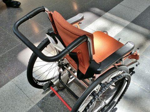 JALの車椅子