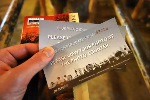シンガポール「ナイトサファリ」写真の整理券