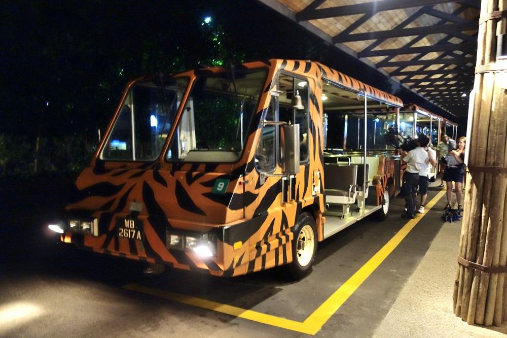 シンガポール「ナイトサファリ」お得なトラムの乗り方!