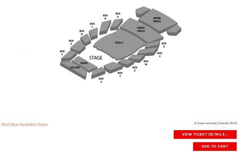 シドニーオペラハウスのチケット
