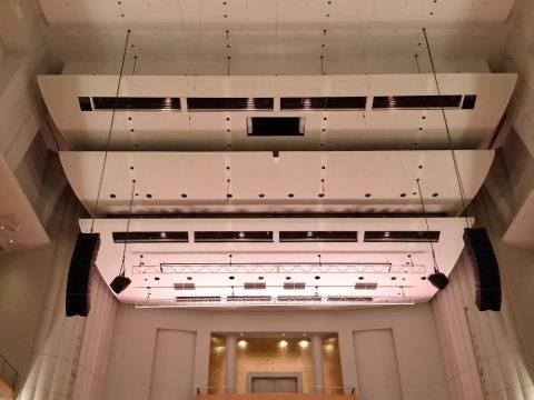 シドニーCity-Recital-Hallの高い天井