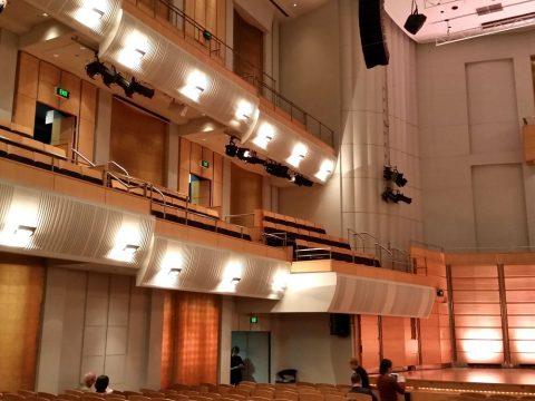シドニーCity-Recital-Hallのキャパシティ
